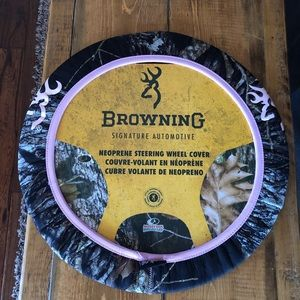 Browning Camo Steering Wheel Cover